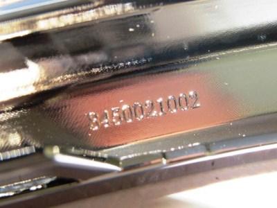 Накладка переднего бампера нижняя правая хром LADA XRAY CROSS Оригинал