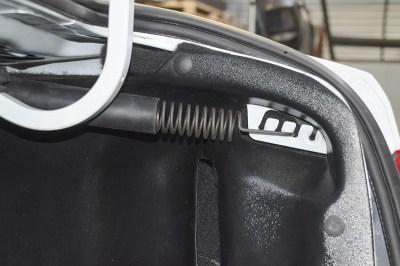 Защитные накладки на арки в багажнике для ЛАДА ВЕСТА, VESTA CROSS Седан