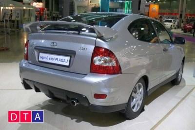 Бампер задний «Priora Coupe» заводской тюнинг на ЛАДА ПРИОРА ВАЗ