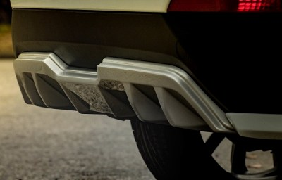 Накладка Zeus на задний бампер Hyundai Creta