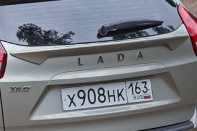Спойлер Чистое стекло на ЛАДА Х-Рей