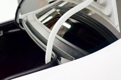 Защитная накладка в проем заднего стекла (жабо) для ЛАДА ВЕСТА