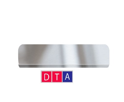 Накладки в проем дверей из нерж.стали с логотипом на ЛАДА ВЕСТА