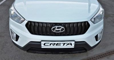 Решетка радиатора STYLE тюнинг для Hyundai Creta