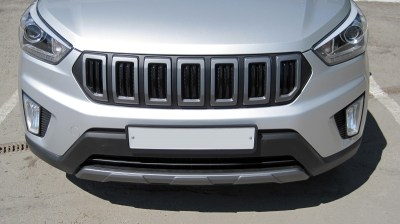 Накладка на передний бампер «NEXT» тюнинг на Hyundai Creta