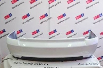 Бампер задний на ЛАДА ПРИОРА ВАЗ 21704 седан оригинал в цвет