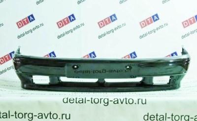 Бампер передний под ПТФ на ЛАДА САМАРА ВАЗ 2114 в цвет