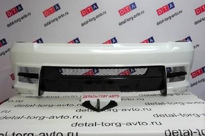Тюнинг бампер задний LEX (Лекс) на Лада Приора ВАЗ 2172 хэтчбек