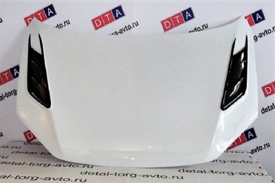 Капот пластиковый AVR Sport тюнинг на ЛАДА ГРАНТА ВАЗ 2190-2191