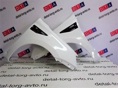 Тюнинг крылья пластиковые AVR для ЛАДА КАЛИНА 2 ВАЗ 2192-2194