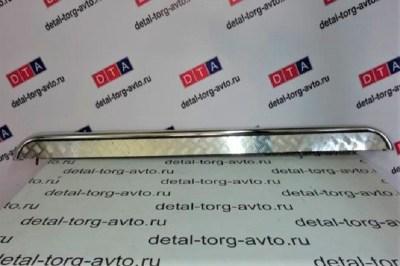 Защита порогов с алюм. площадкой 51 мм (НПС) для LADA VESTA SW CROSS