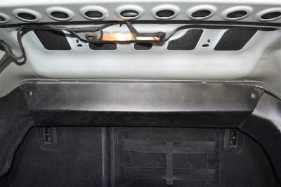 Накладка на перегородку багажника для ЛАДА ВЕСТА