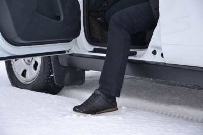Защитные накладки на пороги Чистые штаны на RENAULT DUSTER