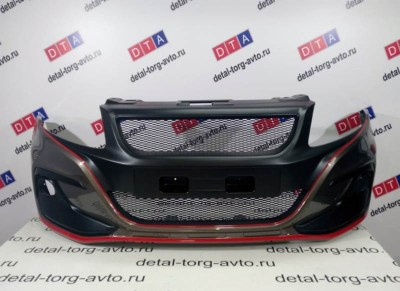 Бампер передний Razor тюнинг на ЛАДА ГРАНТА ВАЗ 2190, 2191 в цвет