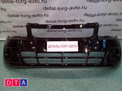 Бампер передний с заглушками на LADA GRANTA ВАЗ-2190 седан