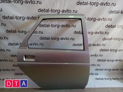 Дверь задняя правая на ЛАДА ПРИОРА ВАЗ-2170 седан оригинал в цвет