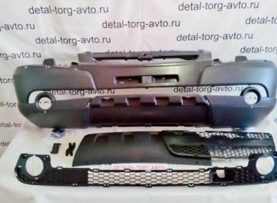 Бампер передний в сборе Bertone Chevrolet Niva ВАЗ-2123
