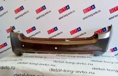 Бампер задний на ЛАДА КАЛИНА КРОСС ВАЗ 2194 оригинал в цвет