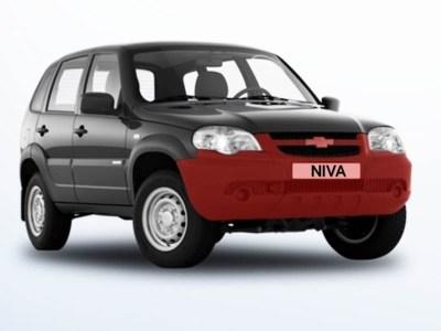 Бампер передний Chevrolet Niva ВАЗ 2123 оригинал