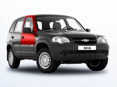 Дверь передняя правая на Chevrolet Niva ВАЗ 2123 оригинал в цвет