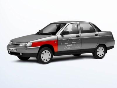 Крыло левое переднее на ВАЗ 2110, 2112 оригинал в цвет