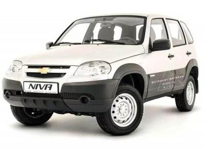 Бампер передний на Chevrolet Niva BERTONE ВАЗ 2123