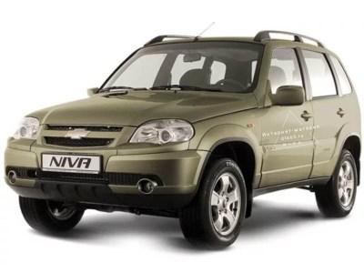 Комплект обвеса Bertone Chevrolet Niva ВАЗ-2123