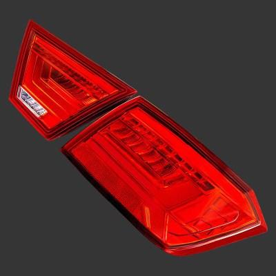 Светодиодные LED фонари (красные) для Лада Веста